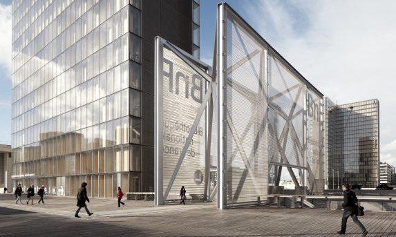 Copyright Jean-Christophe Ballot/BnF Architecte D. Perrault, Copyright Adagp, Paris, 2017